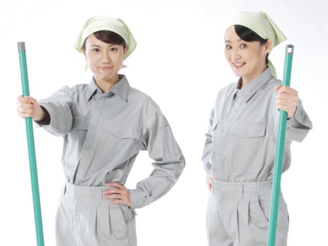 UR賃貸団地内での清掃業務をお願いします。女性パートさんが多数活躍しているお仕事です♪