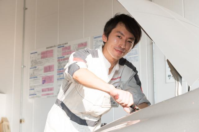 <社員の声>坂下さん(2級整備士/入社6年/南柏店勤務)