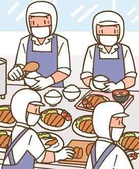 大阪府立支援学校の厨房での調理のお仕事です♪