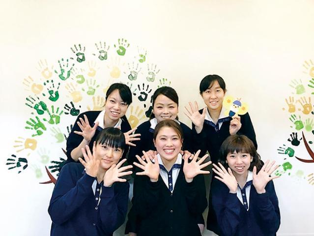 昨年4月に開園した、幼保連携型認定こども園です。子どもたちの笑顔でいっぱいの職場です♪