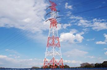 送電用電力鉄塔の試験組立のお仕事