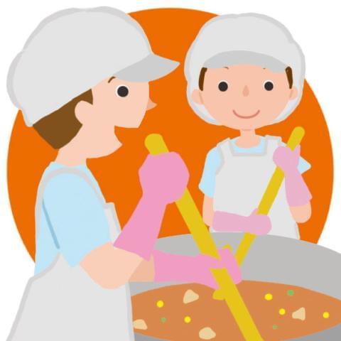 保育園で調理の仕事です!園児の笑顔が励みです♪