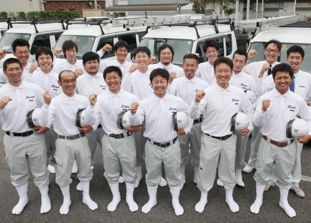 ミヤケンでは職人の独立を応援しています。協力業者さんも募集中です!
