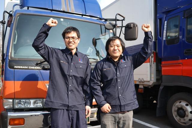 【ドライバー】男性が多いイメージの職種ですが、男女問わず活躍できる職場。ぜひチャレンジを!