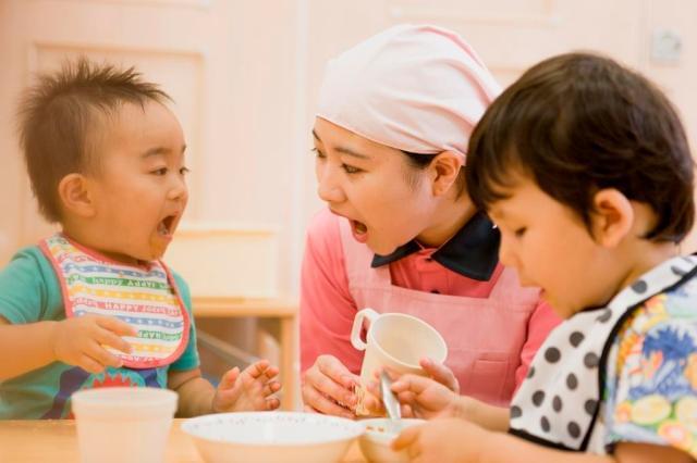 園児たちの笑顔が、大きなやりがいに。 栄養たっぷりのお食事を提供しましょう♪