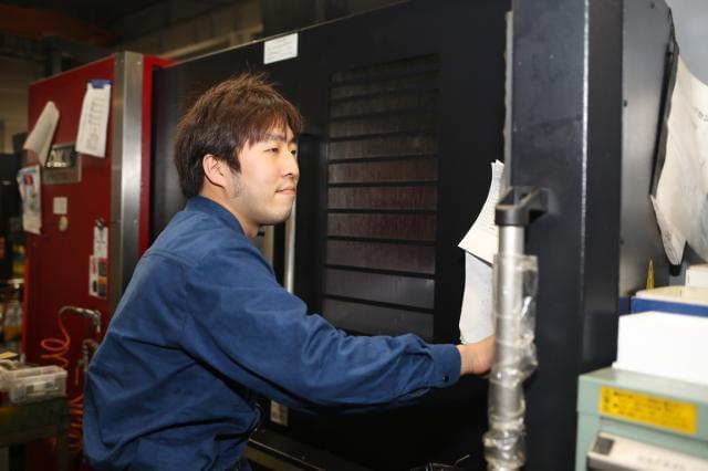 ■若手社員インタビュー(機械オペレータ・Oさん・勤続4年)