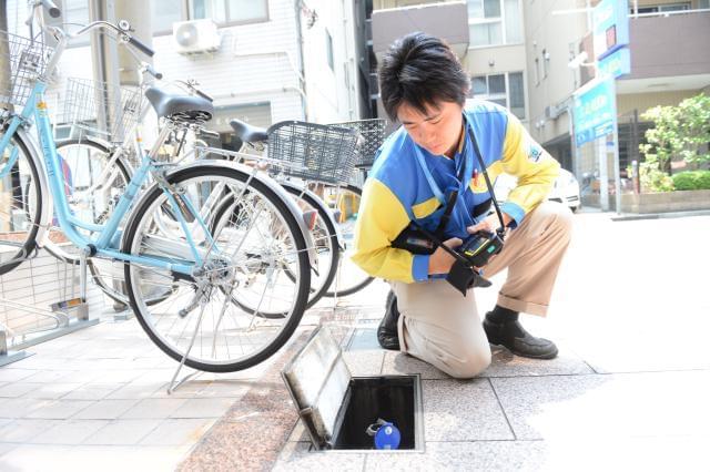 東京都水道局からの受託業務だから安心安定!性別・経験は問いません。