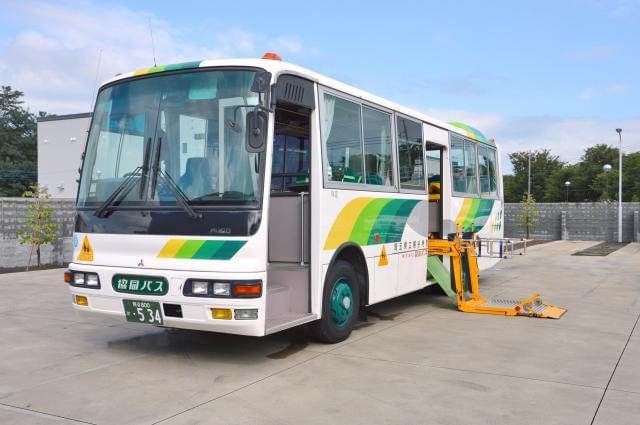 伏見支援学校 バス