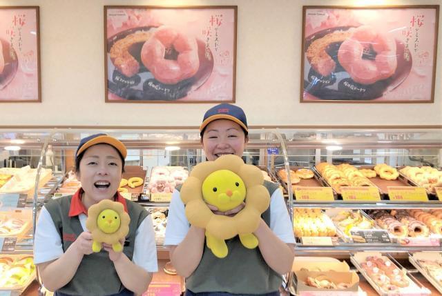 気さくなメンバーばかり! 私たちと一緒に、美味しいドーナツをお届けしましょう♪