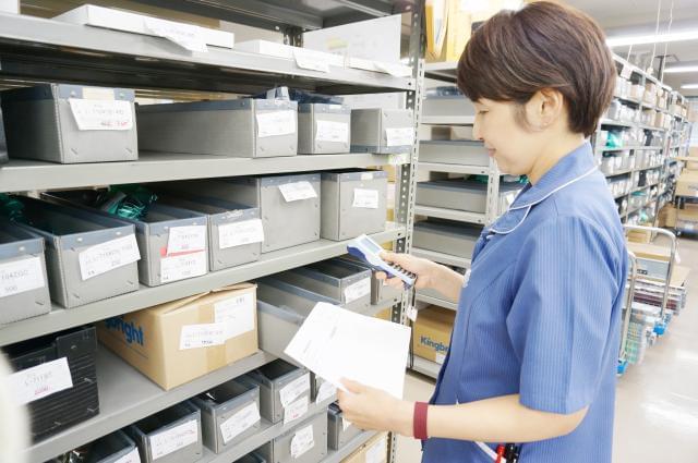 ★お仕事紹介★[2]電子部品の入出荷作業