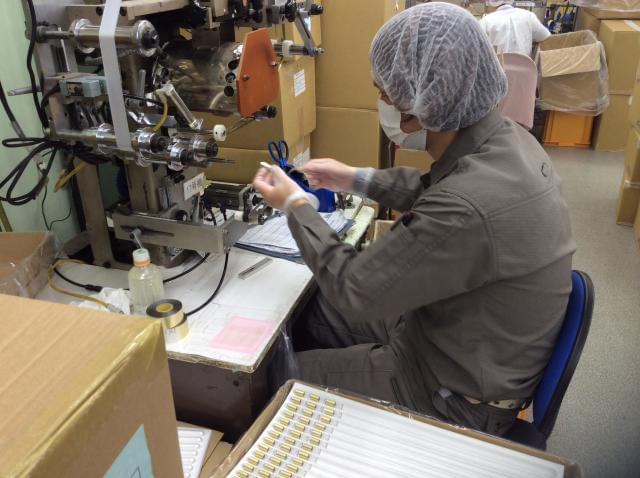 機械操作から印刷技術、納期管理までひとつひとつ確実に身に着けていけますよ。
