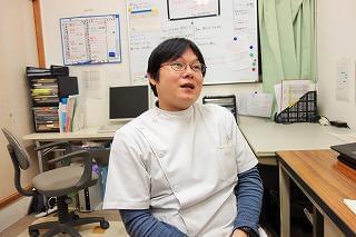 西川先生は、患者さん以上にスタッフ想いの素敵な方です。