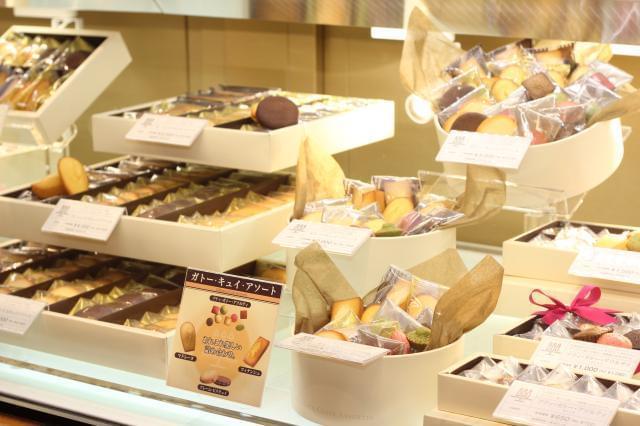 うれしい社員割引あり◎直営店では全商品20%オフ☆シーキューブ・カサネオのお菓子もOK♪
